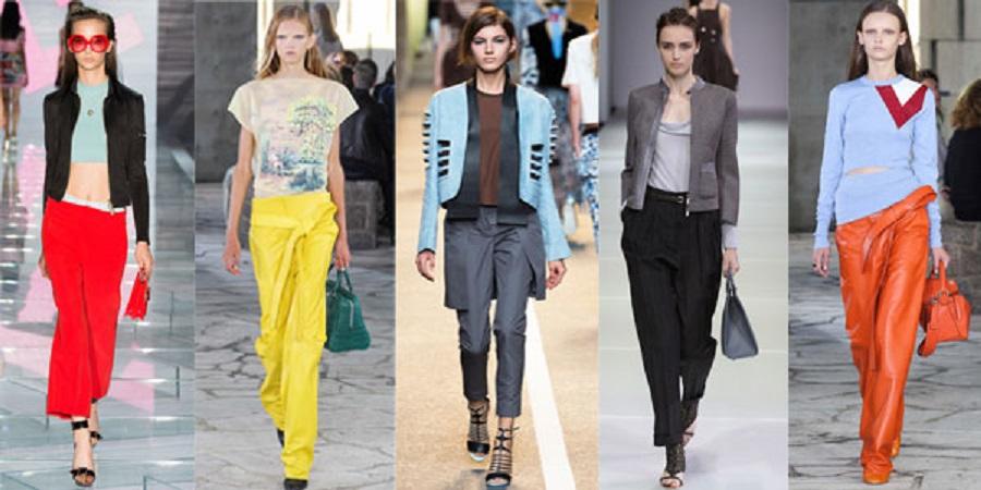 Ce tipuri de pantaloni poarta femeile?